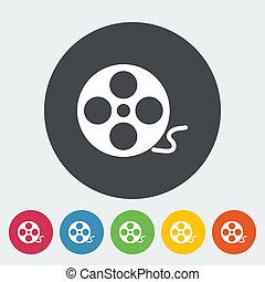 Icon reel of film