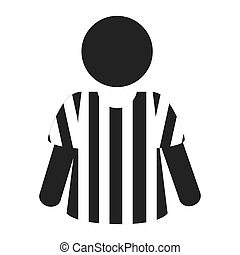 icon referee football american