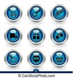 Icon series 11 - shopping