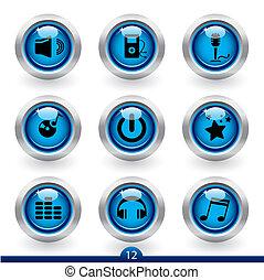 Icon series 12 - music