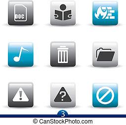 Icon series 3 - web universal