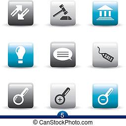 Icon set from seies in my portfolio.