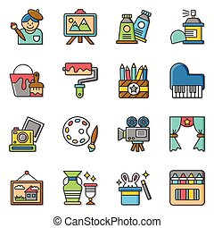 icon set art