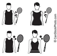 icon set - vector illustration of sport icon set