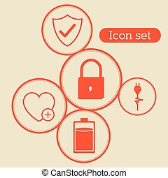 Icon set design