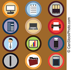 Icon Set for Business