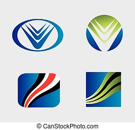 Icon set. logo design elements