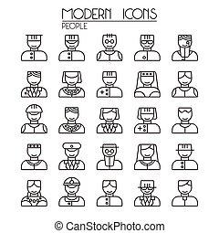 Icon set people