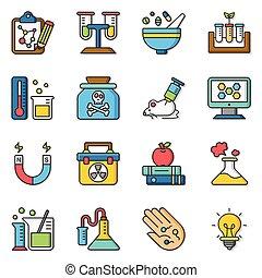 icon set science