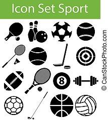 Icon Set Sport