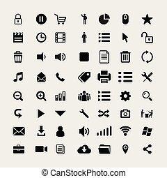icon sign symbol set