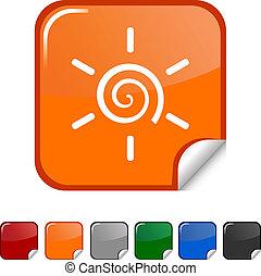 icon., sole