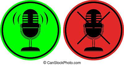 Icon sound - Creative design of icon sound