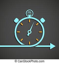 emblem of the chronometer