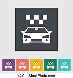 Icon taxi