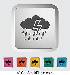icon., tempestade