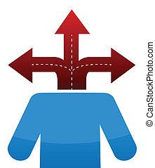 icon three way destination