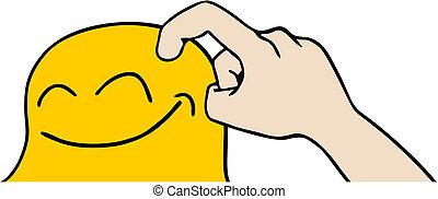 Icon tickle - Creative design of icon tickle