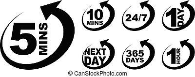 icon timer set