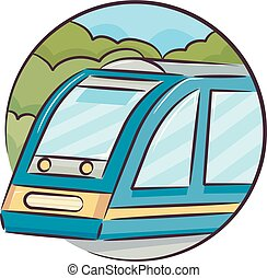 Icon Train Illustration
