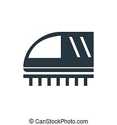 icon train profile