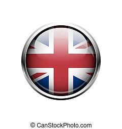 icon., vetorial, reino unido
