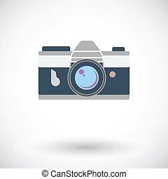Icon vintage camera.