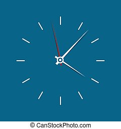 Icon watch vector illustration