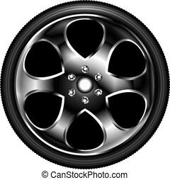 Icon wheel car