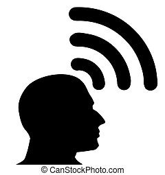icon., wifi, ιδέα , στέλνω