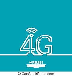 Icon Wireless 4g. New technology, high speed internet...