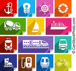 icona, appartamento, luminoso, color-01, trasporto