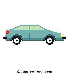 icona, automobile, stile, appartamento