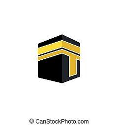 icona, bah, vettore, illustrazione, ka, disegno, logotipo