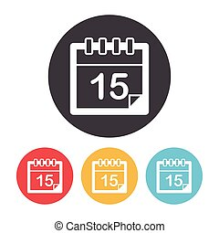 icona, calendario