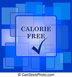 icona, caloria, libero