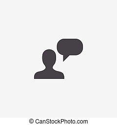 icona, conversazione