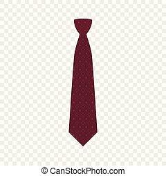 icona, cravatta, stile, moda, appartamento