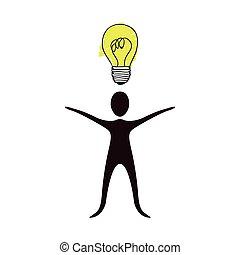 icona, persone, idea, casato