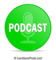 icona, podcast, internet