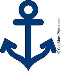 icona, simbolo, ancorare