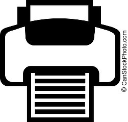 icona, stampante