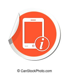 icona telefono, informazioni