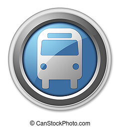 "Icon/Button/Pictogram ""Bus / Ground Transportation"""