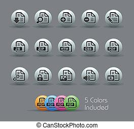 icone, 1, 2, -, //, perlaceo, documenti