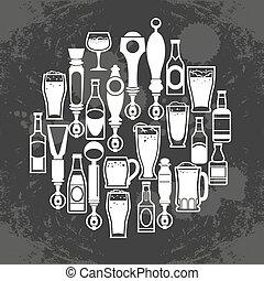 icone, birra batte