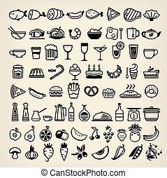 icone, cibo