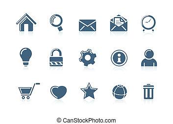 icone fotoricettore, piccolo, s, internet, 1
