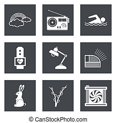 icone fotoricettore, progetto serie, 25