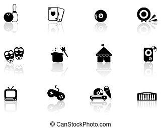 icone, intrattenimento